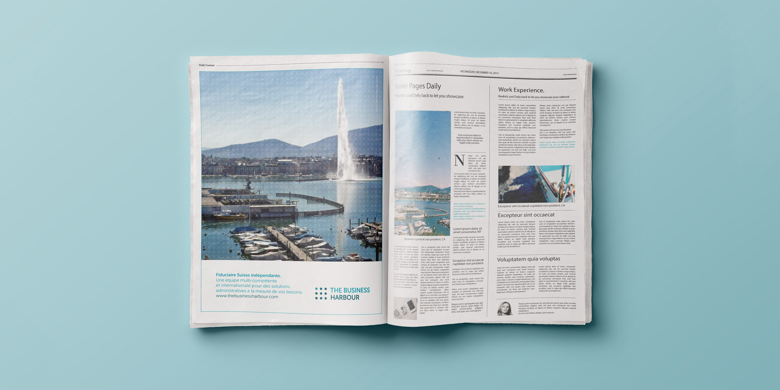 The Business Harbour - Press Advertising