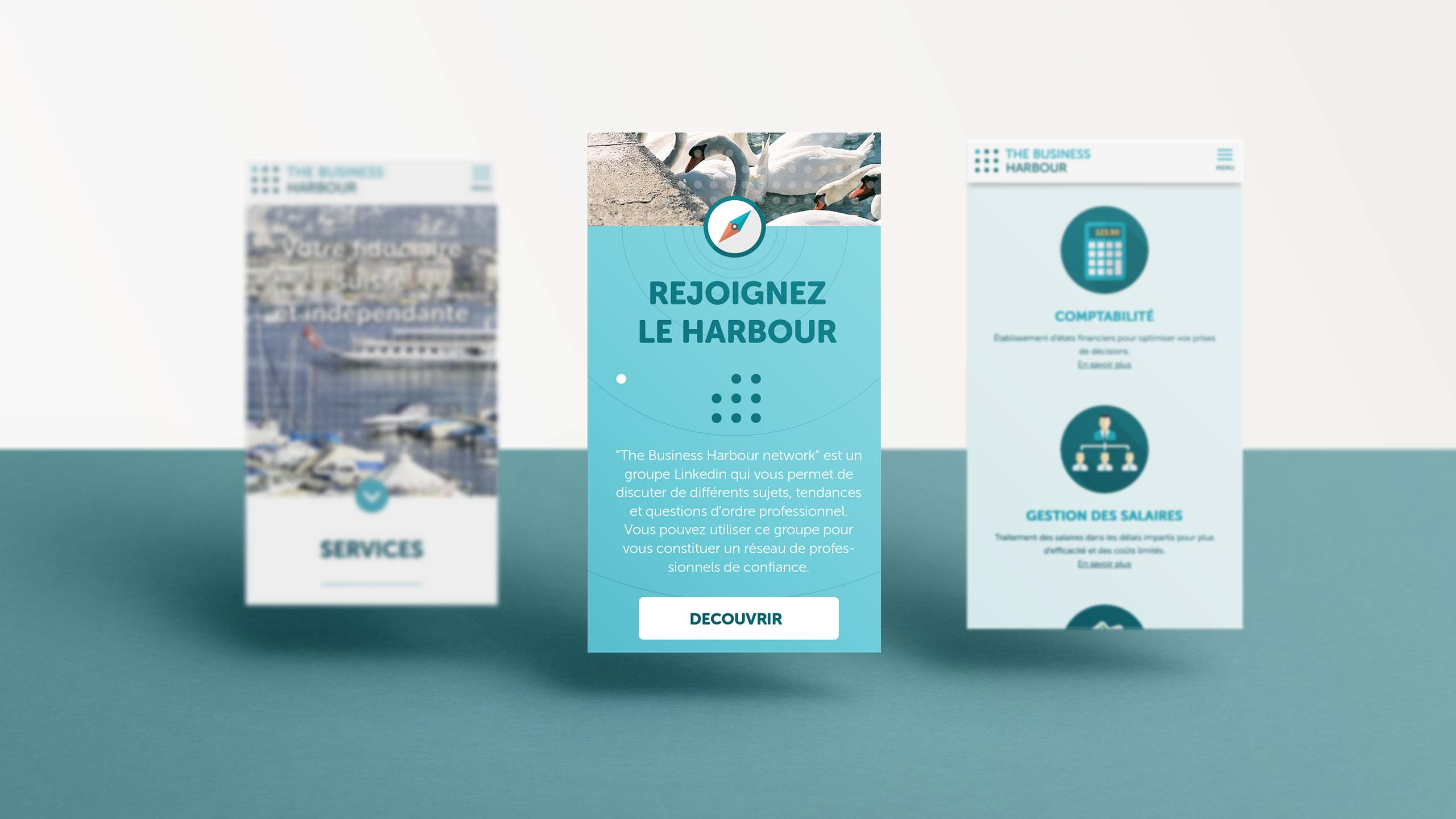 The Business Harbour - Responsive Design